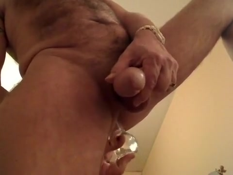 playing with my dildo Granny Masturbating On Cam