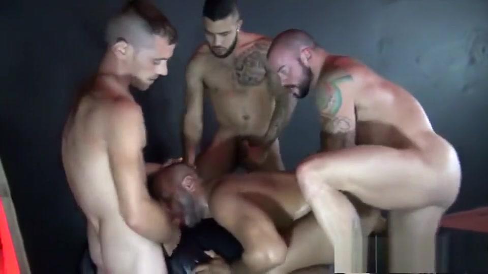 Leo Forte got Gangbanged and Double Fucked by Sean Duran, Brett Bradley and Mario Cruz sex movies on mediafire