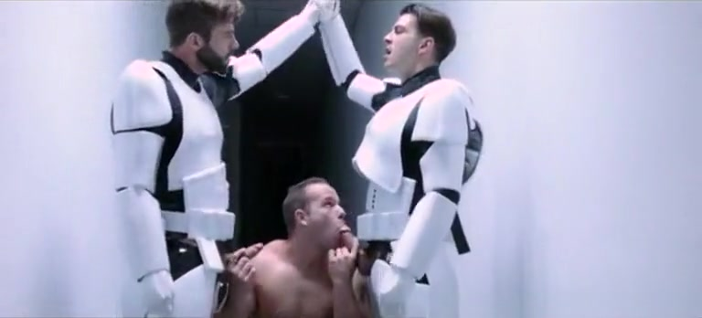 Star Wars episodio IV close up peeing pussy
