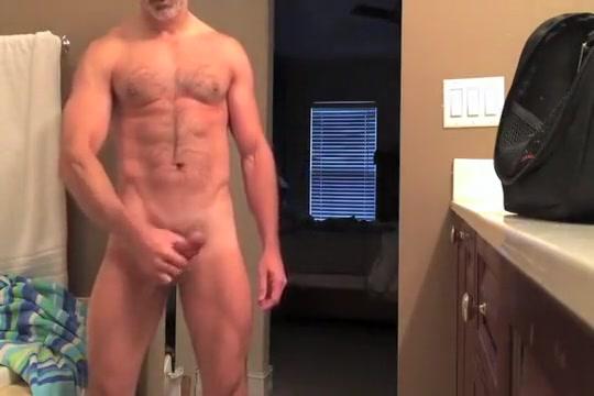 hunky dad jerks off in bathroom Nude girls in socks