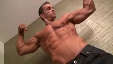 Muscle Bud Jakub Stefano teady bear costume fuck