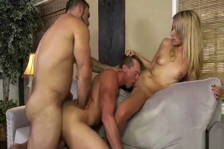 Pierce & Jaxton enjoy a threesome with a woman Some lesbian like it rough