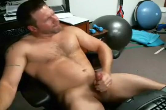 beefy dad jerks off on cam Terrance anus cancer