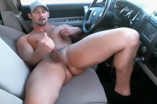 redneck jerks off in car on cam Big round naked woman