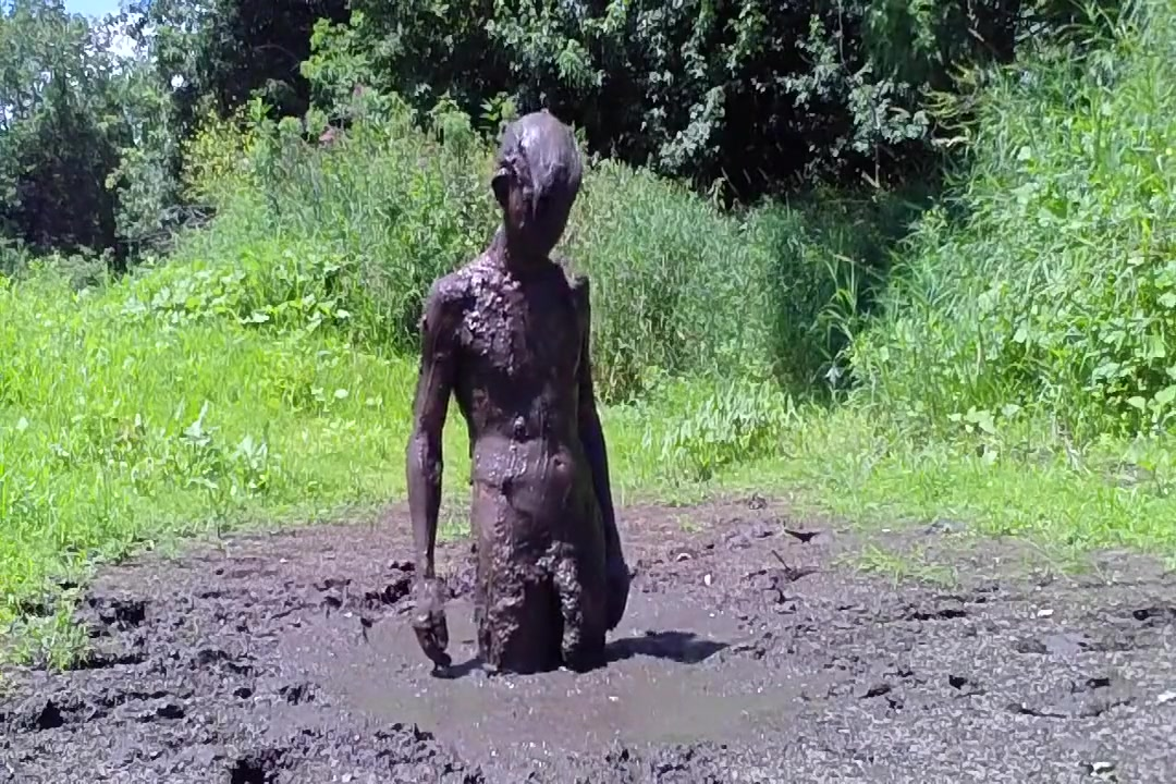 Mud Bath Blowjob from bbw