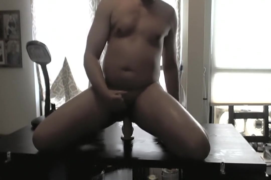 Dad rides a dildo on cam xxx bi threesome sex