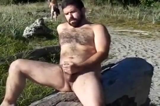 public bear jerkoff Big saggy tits self shot