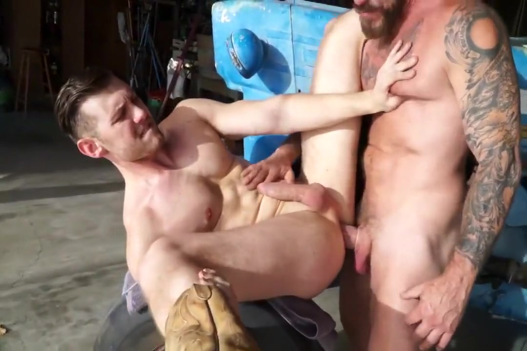 1-7 2 Hunk and Daddy Fuck in the Barn Pornstar gay mexicano