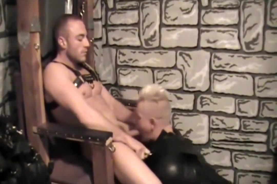 BONDAGE SATYRS Ass spread wide open