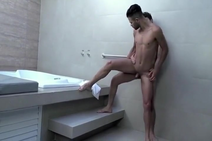 Two hot Hunks fuck Skinny multiple orgasms