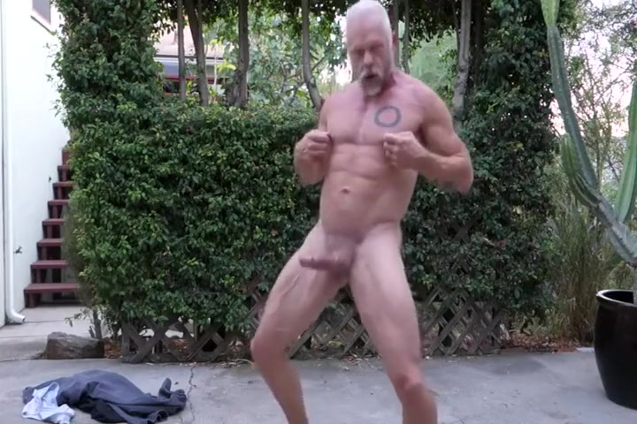 mature muscle dad strips and jerks off Time in miles city montana