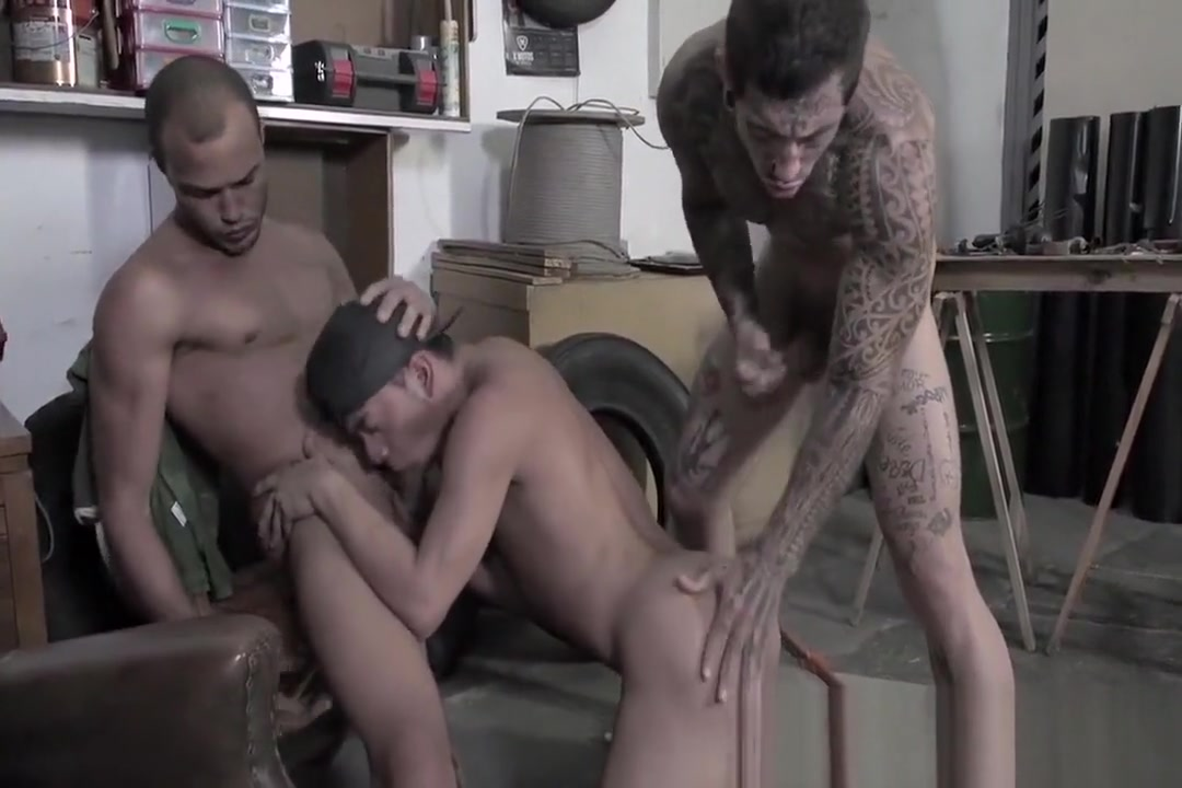 Technician Threesome Latin thug 70 porn star