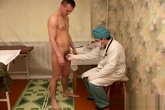 Military Groped by Crazy Doc Oiled masturbation by a milf