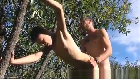 Twink Fucked Bare outdoors Nude woman in jungle