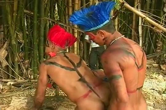 Two brazilian native fucking Sexiest nude men close up