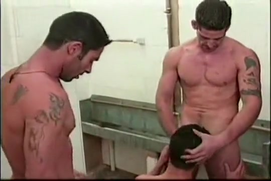 Two men fuck petrol station boy hot sexy couple nude