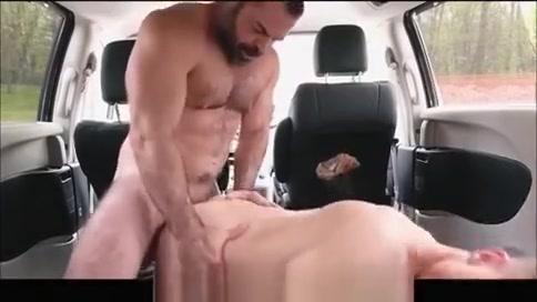 Fucked in the Van bbw black woman blowjob