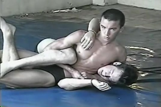 Mark Lander wrestles Danny Shaydak Part 2 Leah remini ass and titties