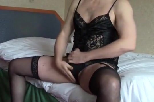 Sissy Jacking Off in Lingerie Sex tricks to impress your man