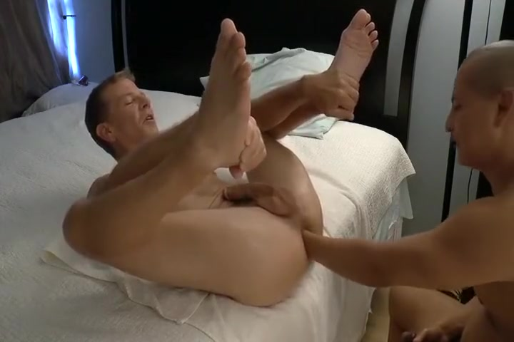 Fisting his own personal bottom 1 On Yoga