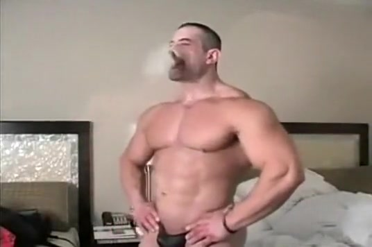 smoking muscle hunk How to tell if you are hookup a jerk