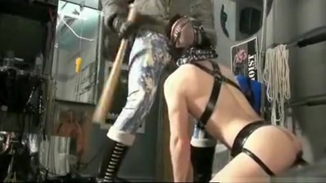 Rubber Boss and his dog Sexy pornstar krystal steal