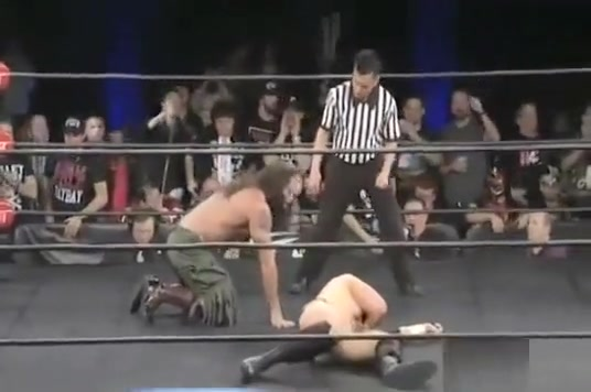 Adam Page vs Mark Briscoe Teen naked or clothed