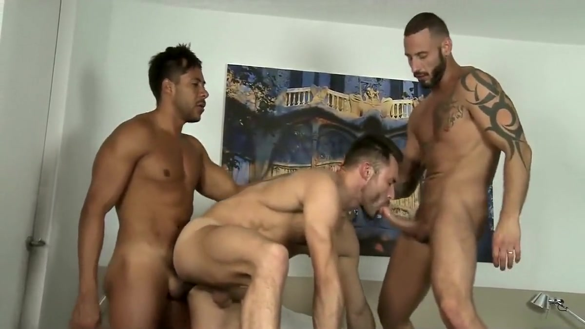 Hot threesome fuck Two nude girls and a boy