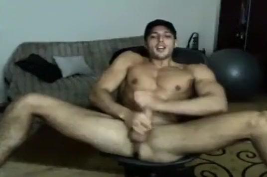 Stud Jacks Off adult massage and release
