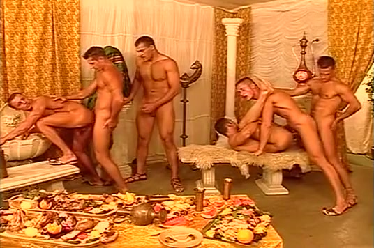 East European ali baba themed orgy Blondes Fucked Assholes