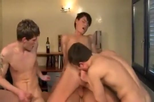 Euro Twink 4some BB Teen spy masturbation