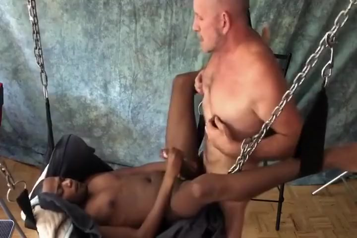 black boy Fucked In Sling By Daddy Free poen pic