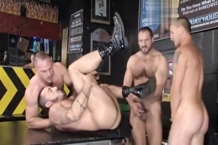Samuel, Arpad, Alessio, and Brenn fuck ass small tits video