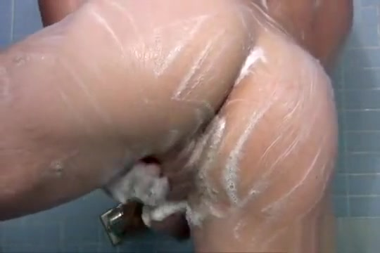 Patrick shows off Naked oiled wet girls