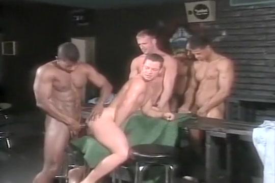Jason Branch, Tristan Paris & three black buddies Laura gemser tube