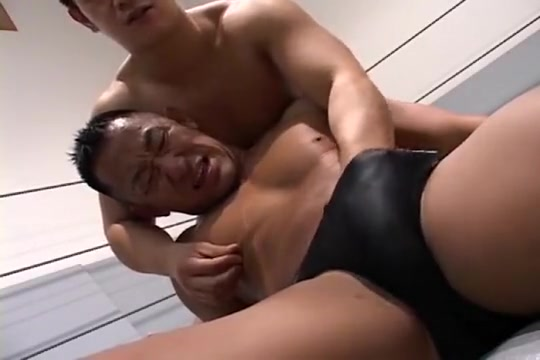 Asian Twinks: Hot Wrestling a girl eating naked