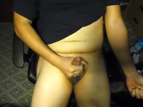 Working at my desk Flexible anal les tongues