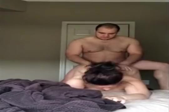 He could do this to me (Str8 sex warning) amateur Redhead slut gangbanged by 3 big black cocks