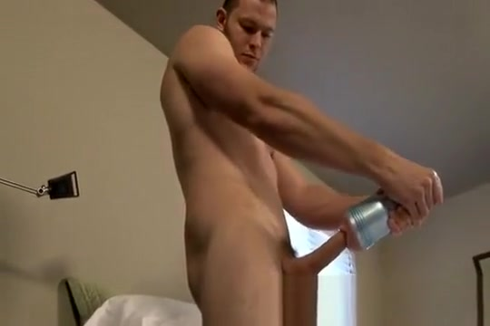 Tex shows off Masturbation before chastity