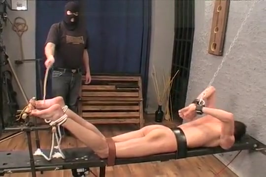 Discipline4Boys - Bastinado for Josef Big c cup breast implants