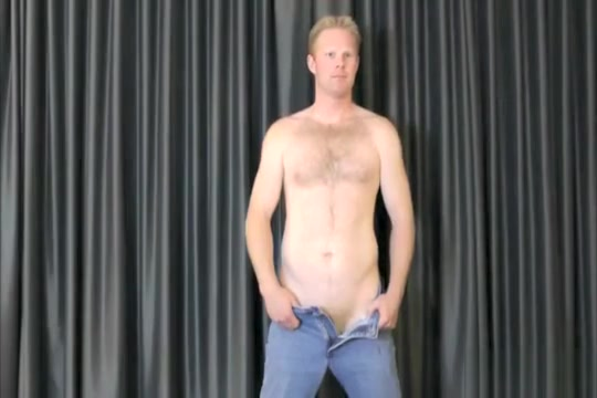 David shows off Prostate huge cum