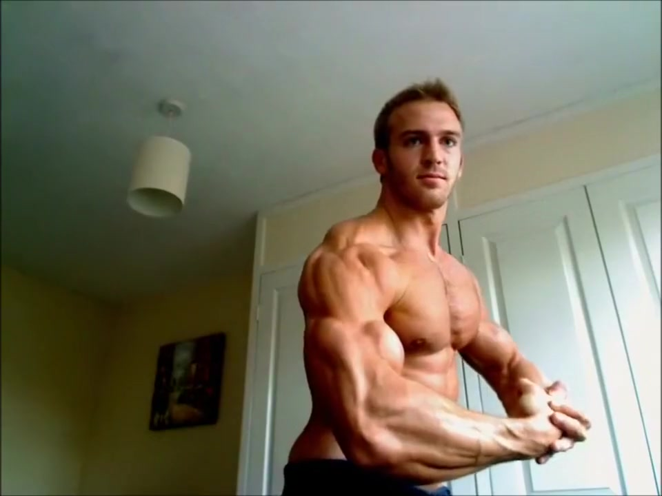 Adam Charlton bodybuilder muscle posing on cam prevent pregnancy after sex