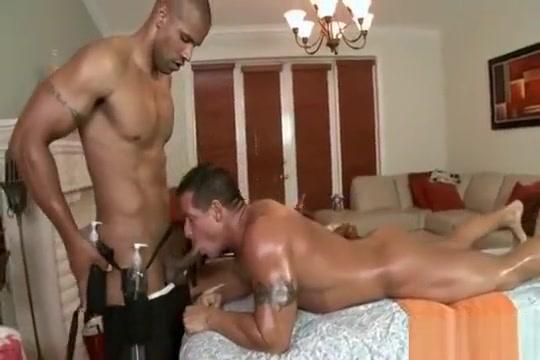 Rock gets a massage and fuck hot porn aunty sex