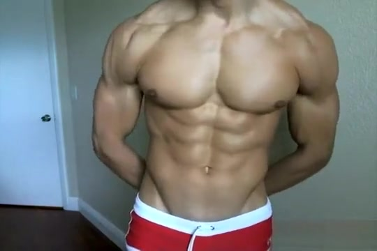 Hot Young Muscle Flexing thick and juicy porn