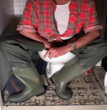 nlboots - toilet smoke baleno waders Easygals porn