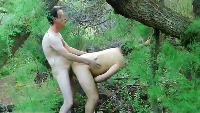 Amateur cruising in the woods IV hot gay guys with huge cocks