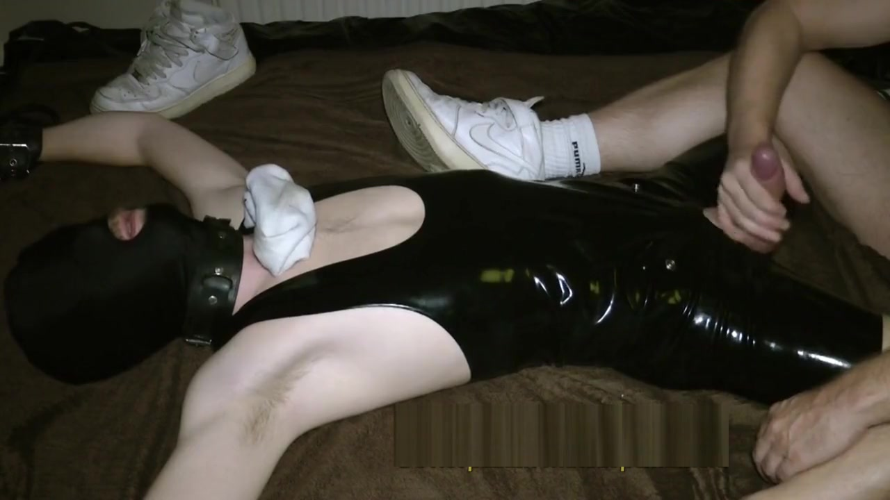 you can come, but only with post cum torture - edging a 24yo rubber guy I want live sex