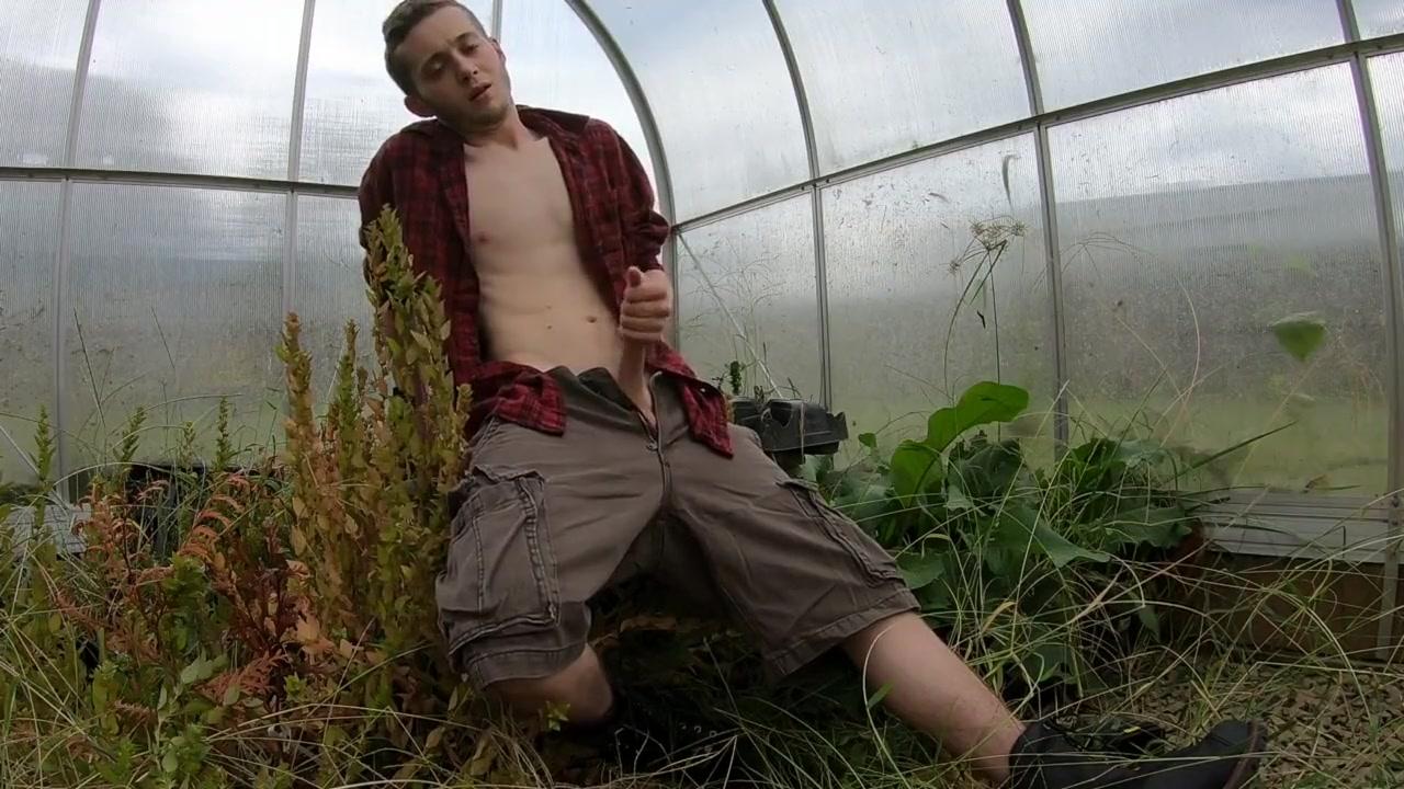 Hot & Sweaty Farm Boy Redneck - Close Up Squirting Cumshot sex moveis secrimin hot girl
