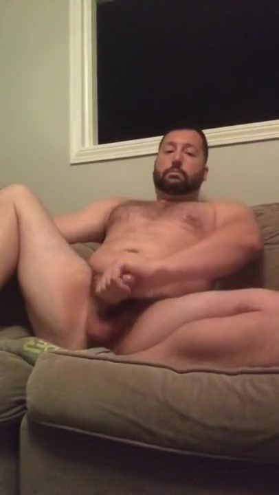 Jack off on the couch Dancing bear strip