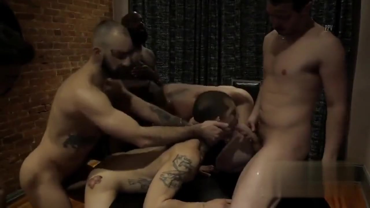Deep State Gangbang Huge Juggs Babe Masturbating her Pussy